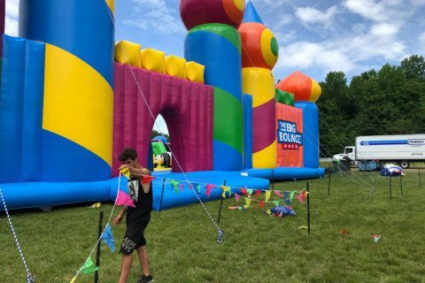 Get your bouncy castle and world record fix over the next 2 weekends
