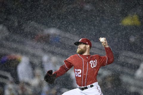 What happened to all the Nationals' good relief arms?