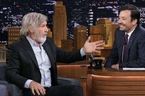 """I miss him"" — Harrison Ford remembers Peter ""Chewbacca"" Mayhew"