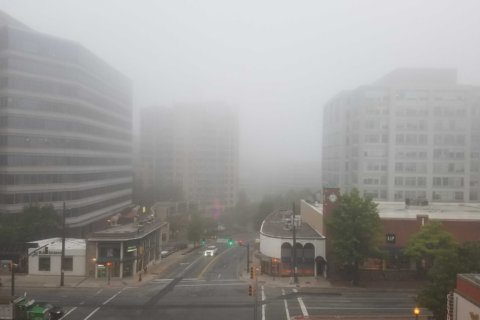 Dense fog advisory makes for a hazy morning commute