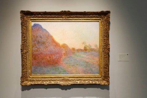 Monet's 'Meules' painting could fetch more than $55 million at auction