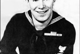 The family of Angus Schmelz, who served aboard the USS Herndon, will be with the Pride of Herndon Marching band for the 75th anniversary of D-Day. (Courtesy Schmelz Family)