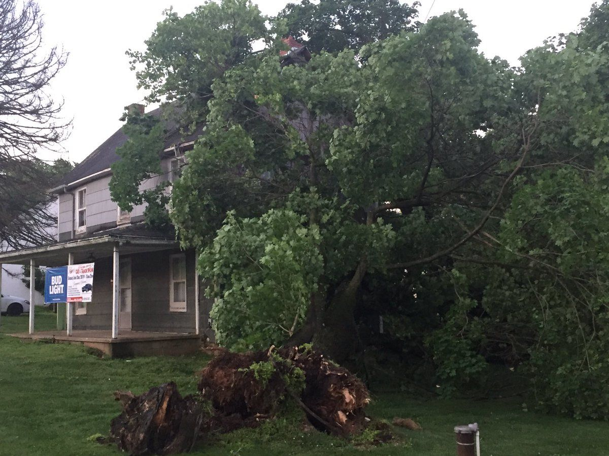 Maryland Tornadoes Confirmed
