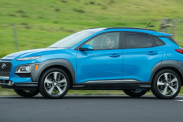 4. 2019 Hyundai Kona. MSRP Range: $21,035 - $32,995. (Courtesy Kelley Blue Book)