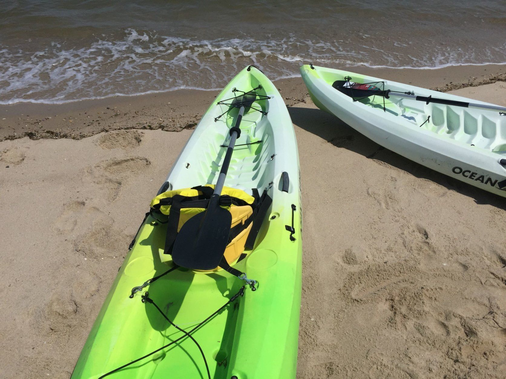 Kayaking is a wildly popular summertime activity. (WTOP/John Domen)