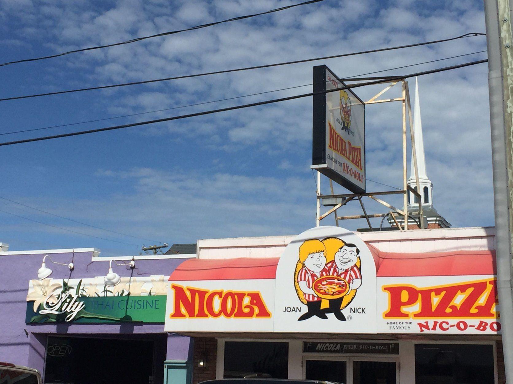 Nicola Pizza in Rehoboth. (WTOP/John Domen)