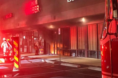 Fire destroys Gaithersburg barbershop, damages other Gaitherstowne Plaza businesses