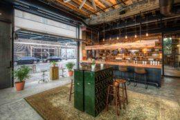 The Ivy Room tasting room inside Republic Restoratives distillery.