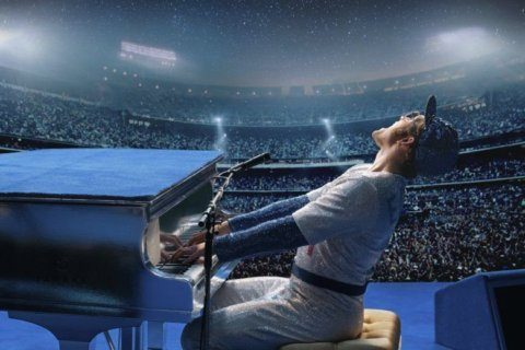 Movie Review: Taron Egerton dazzles as Elton John in biopic 'Rocketman'