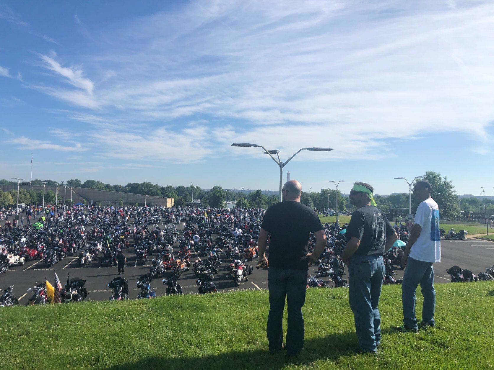 It's the final time Rolling Thunder will ride through Washington, D.C. (WTOP/Melissa Howell)