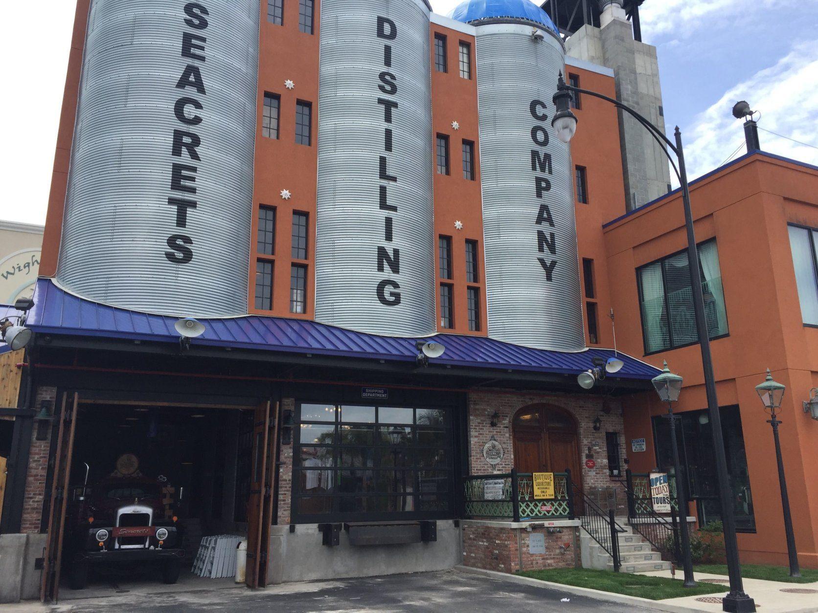 Seacrets Distilling in Ocean City, Maryland. (WTOP/John Domen)