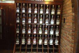 Looking for booze? Seacrets Distillery has plenty of it. (WTOP/John Domen)