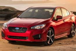 8. 2019 Subaru Impreza. MSRP Range: $19,480 - $26,075. (Courtesy Kelley Blue Book)