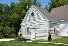 The Bayly Cabin has long been believed to have been used as slave quarters, and recent archaeological work has confirmed that families once lived in the cramped cabin. (Courtesy Dorchester County)