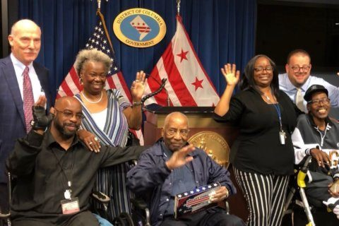 Last-surviving DC government worker who served in World War II receives honors
