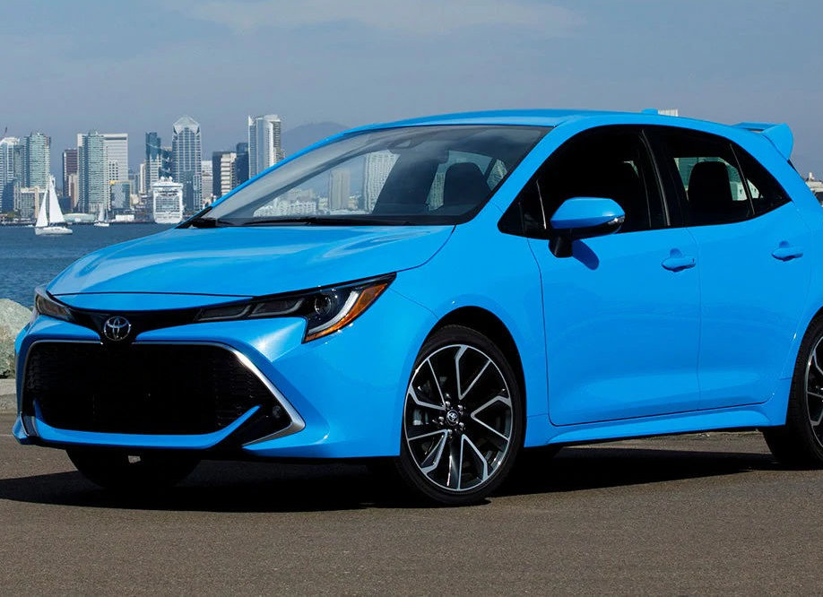 2. 2019 Toyota Corolla Hatchback. MSRP Range: $20,910 - $25,010. (Courtesy Kelley Blue Book)