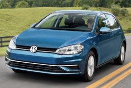 6. 2019 Volkswagen Golf. MSRP Range:  $22,740 - $26,140. (Courtesy Kelley Blue Book)