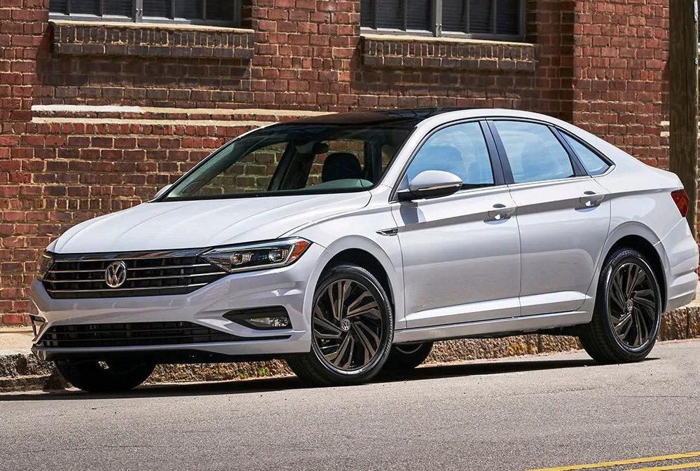 10. 2019 Volkswagen Jetta. MSRP Range: $19,440 - $27,840. (Courtesy Kelley Blue Book)
