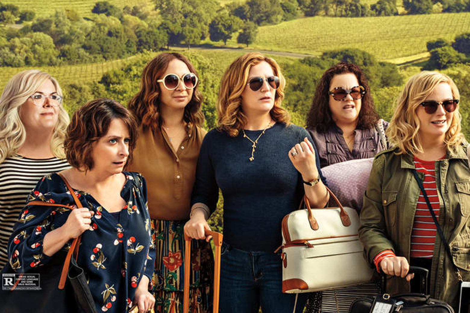 Movie Review: Amy Poehler invites 'SNL' gals on trip to 'Wine Country' |  WTOP