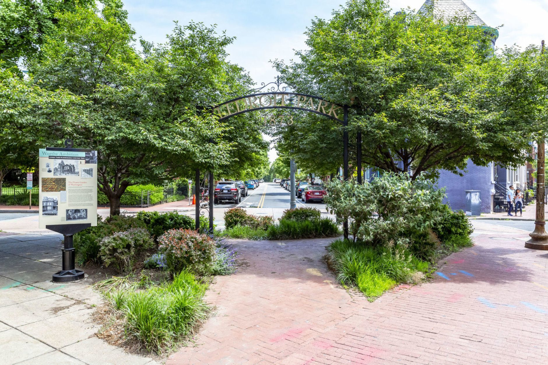 Duke Ellington's former childhood home sits in LeDroit Park. (Courtesy BTW Images)