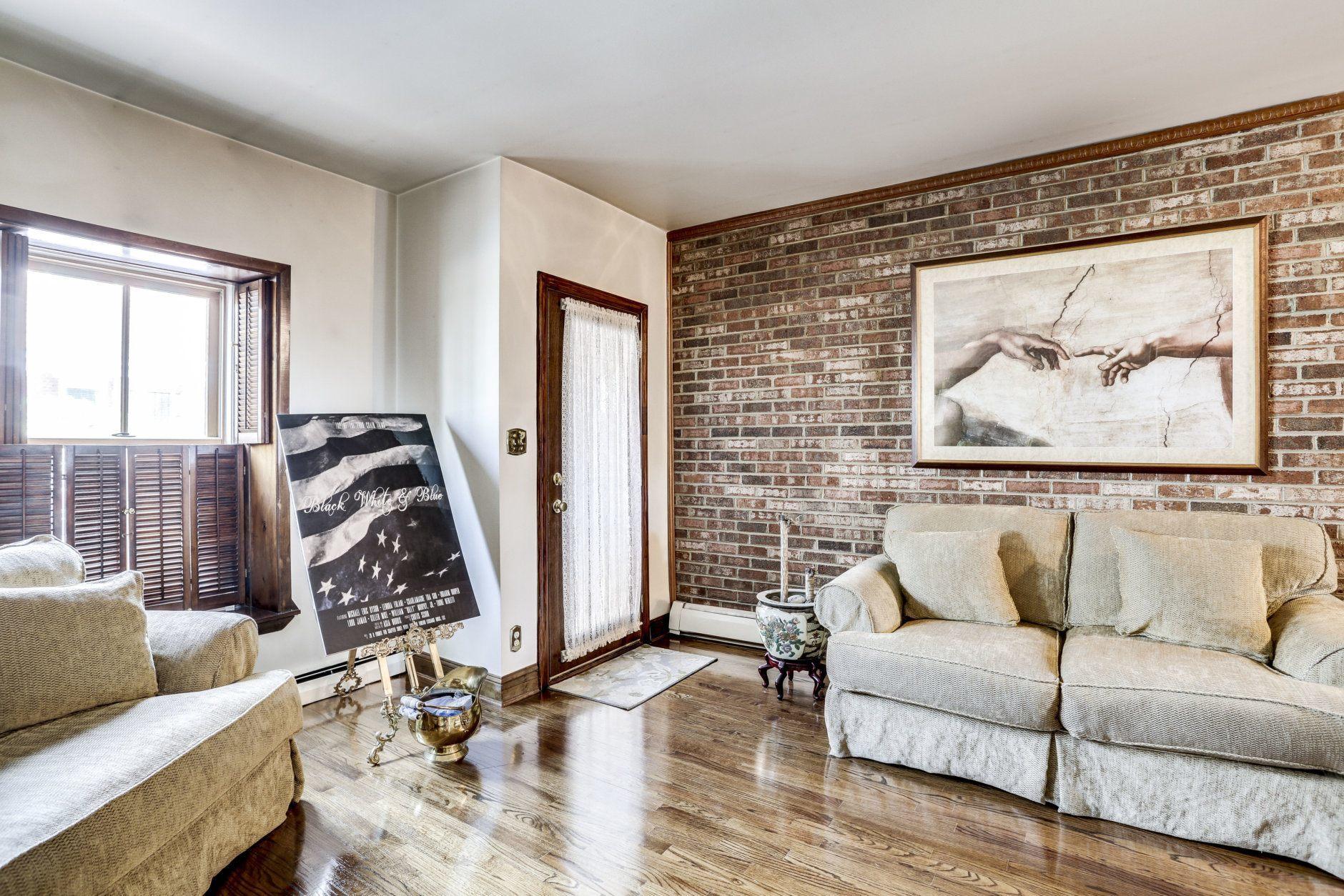 Ellington's former home boasts hardwood floors on each level. (Courtesy BTW Images)