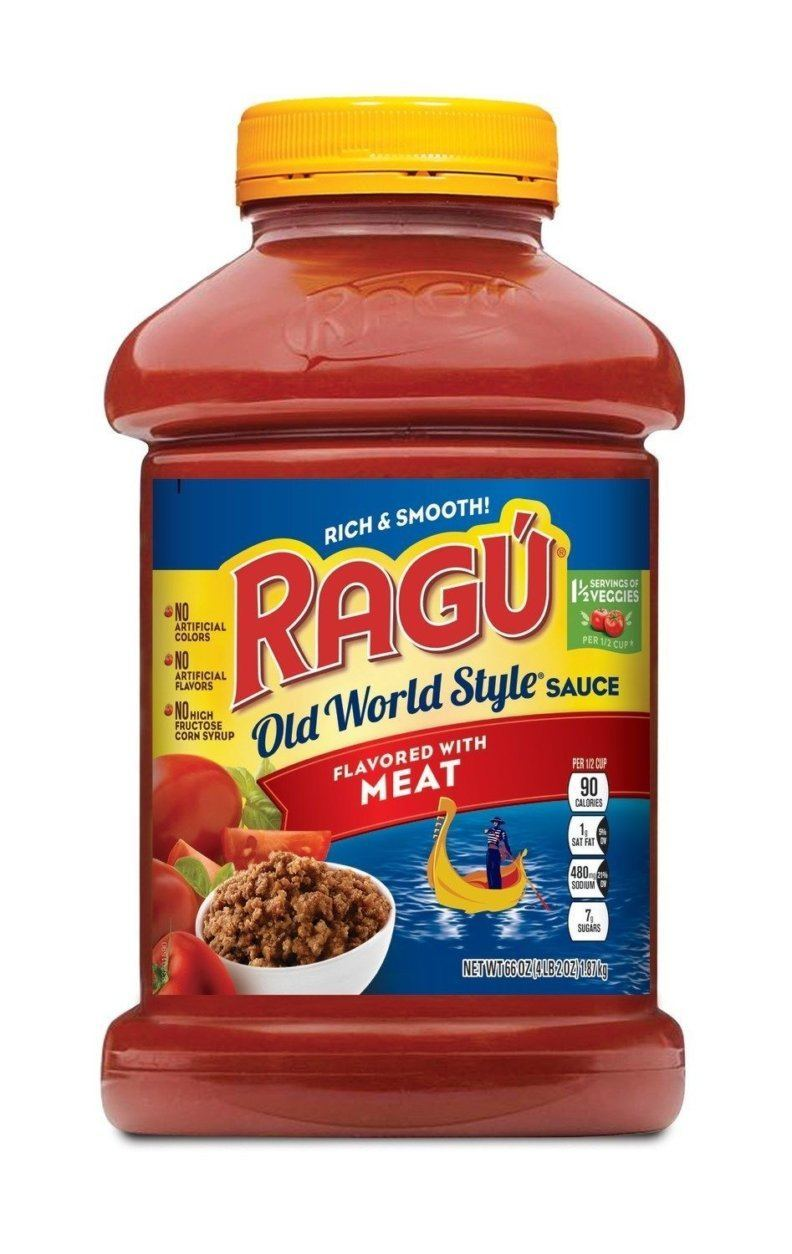 RAGU Old World Style Flavored with Meat 66oz Jar (Mizkan America, Inc./Hand-out)