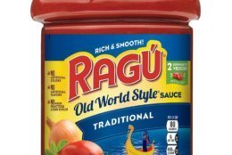 RAGU Old World Style Traditional 66oz Jar (Mizkan America, Inc./Hand-out)