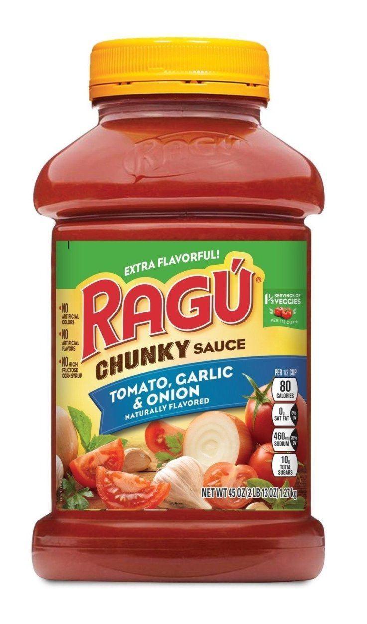 RAGU Chunky Tomato, Garlic & Basil 45oz Jar (Mizkan America, Inc./Hand-out)