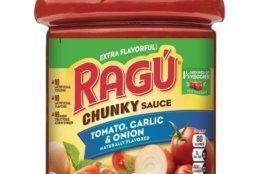 RAGU Chunky Tomato, Garlic & Basil 66oz Jar (Mizkan America, Inc./Hand-out)