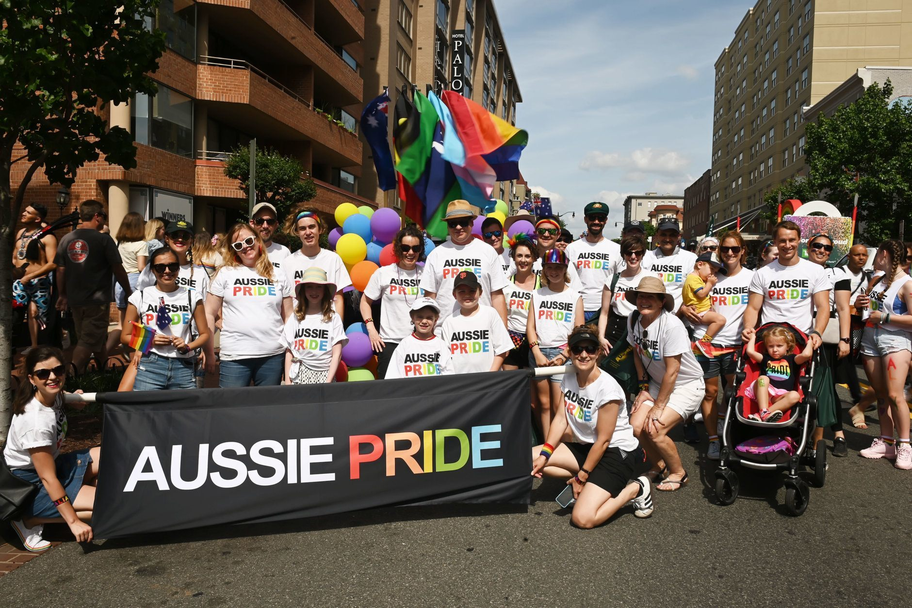 Australians celebrate Pride Month during the 2019 Capital Pride Parade. (Courtesy Shannon Finney Photography)