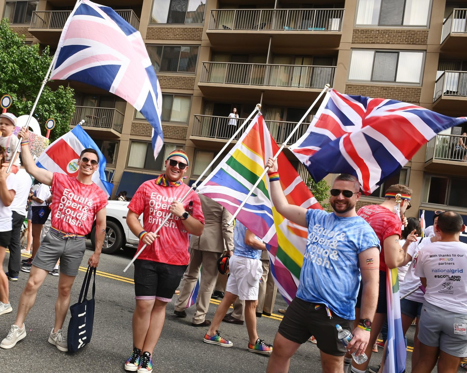 British pride on display at the 2019 Capital Pride Parade. (Shannon Finney Photography)