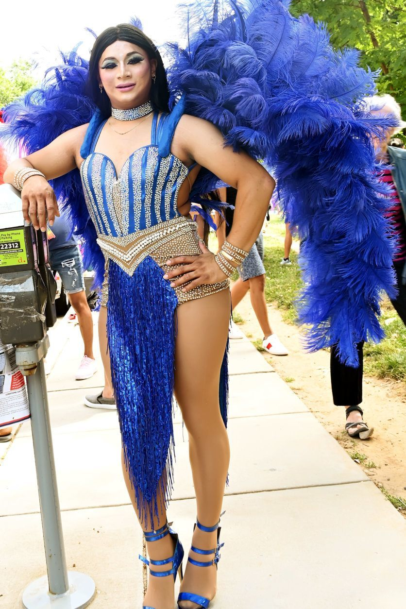 Scenes from the 2019 Capital Pride Parade (Courtesy Shannon Finney Photography)