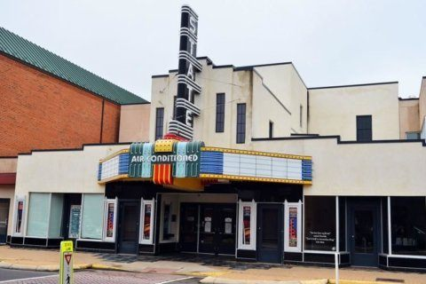 Historic theater in Virginia is back on the market