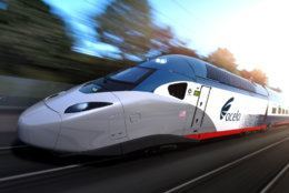 The first prototype of the new Acelas will be ready for testing later this year and will go into passenger service toward the end of 2022. They will carry 30% more passengers and reach 160 mph. (Alstom SA 2017)