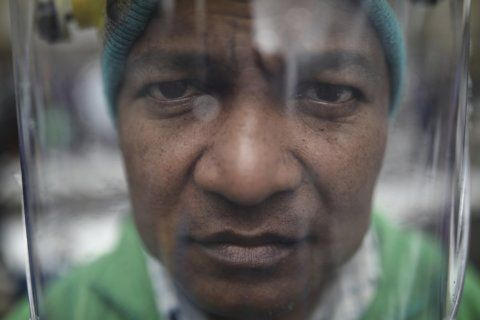 Artist pays homage to murdered Colombia rights activists