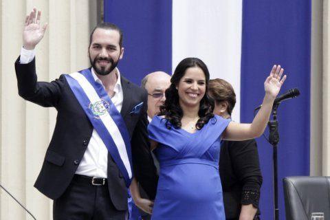 El Salvador's president sworn in, ending 2-party dominance