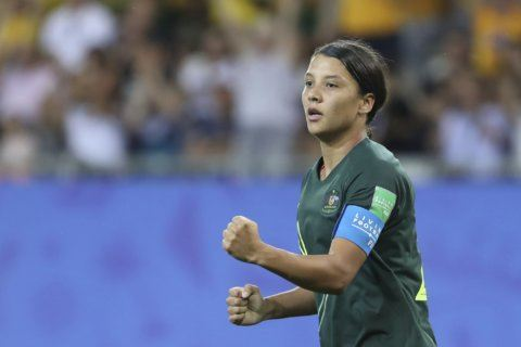 Australia's offense led by prolific scorer Sam Kerr
