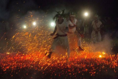 AP Photos: Tribe in northeast India prays for good harvest