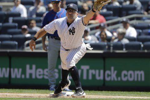 Yankees slugger Stanton could return next week