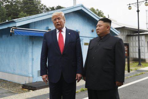 Clarification: Trump-North Korea story