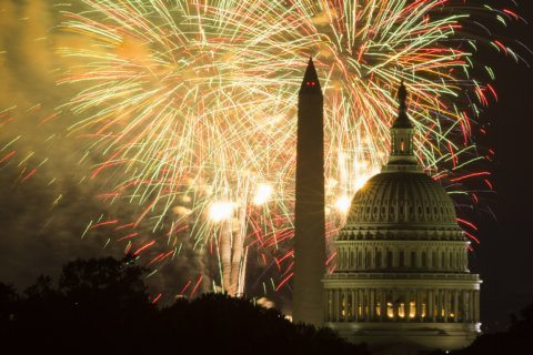 WATCH: Fireworks blast off in DC for July 4