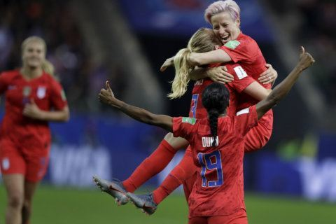 US Women set records in World Cup opener