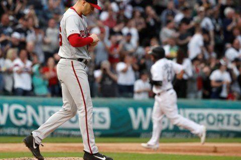 Castillo, Jiménez power White Sox to 7-5 win over Nationals