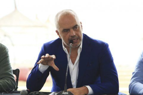 AP Interview: Albania PM says opposition ruining EU chances