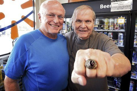 Man reunited with lost class ring more than 50 years later
