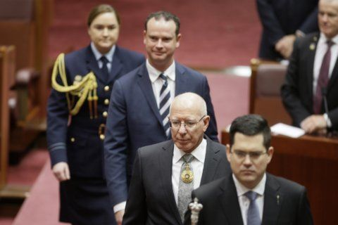Ex-soldier David Hurley becomes Australian governor-general