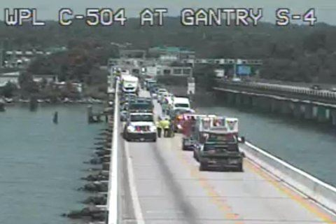 Crash delays Friday Bay Bridge traffic
