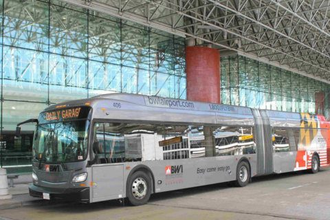 Bigger buses with more amenities rolling at BWI