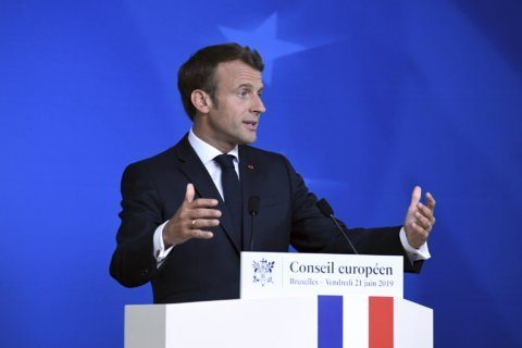 Macron says 3 candidates for top EU job have been ruled out