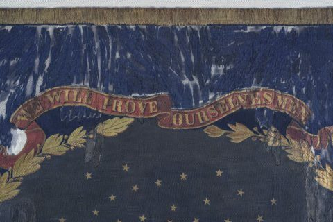 Battle flag carried by black Union troops sells for $200K